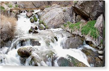 Upper Owens Canvas Print by Kirk Williams