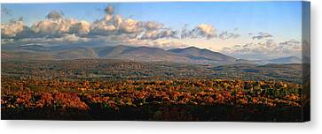 Upstate Ny Panorama Canvas Print by Terry Cork