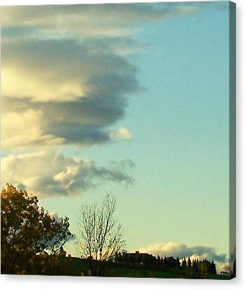Upward Clouds Canvas Print