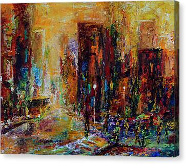 Urban Apparitions Canvas Print by Laura Swink