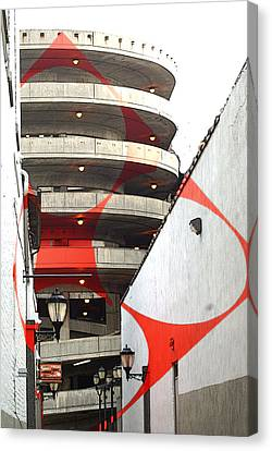 Urban Art - Architecture Canvas Print