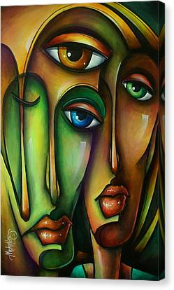 Urban Expressions Canvas Print by Michael Lang