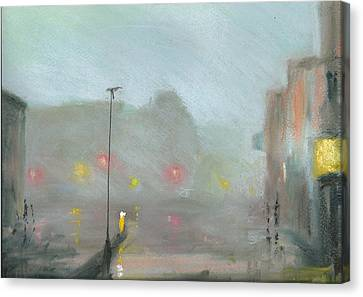 Urban Mist 2 Canvas Print by Paul Mitchell