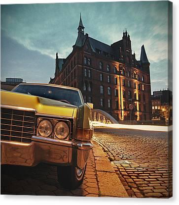 Us Car Canvas Print by Nina Papiorek