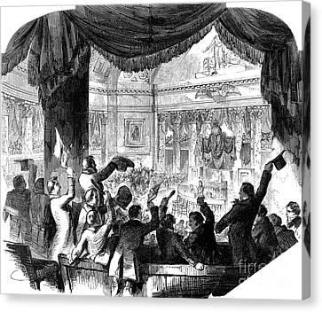U.s. Congress: House, 1856 Canvas Print by Granger