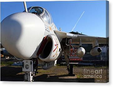 Us Fighter Jet Plane . 7d11232 Canvas Print by Wingsdomain Art and Photography