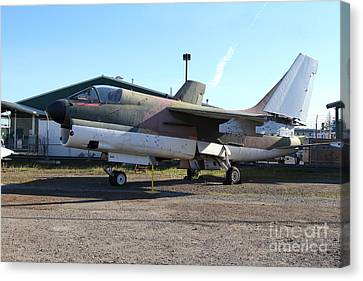 Us Fighter Jet Plane . 7d11239 Canvas Print by Wingsdomain Art and Photography