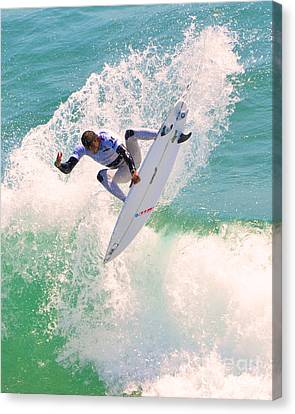 Us Open Of Surfing 2012      10 Canvas Print by Jason Waugh