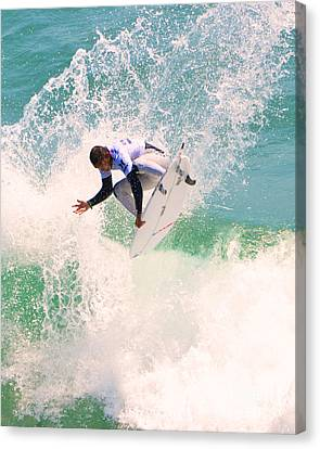 Us Open Of Surfing 2012     11 Canvas Print by Jason Waugh