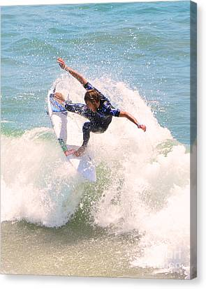 Us Open Of Surfing 2012      4 Canvas Print by Jason Waugh