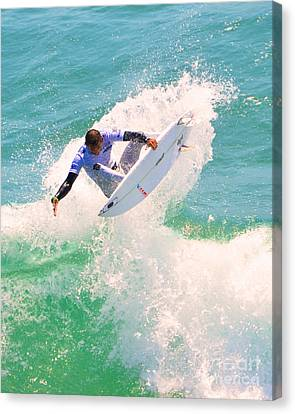 Us Open Of Surfing 2012    9 Canvas Print by Jason Waugh