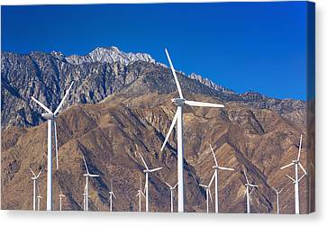 Y120907 Canvas Print - Usa, California, Palm Springs, Wind Farm by Tetra Images