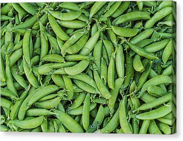 Usa, New York City, Green Beans Canvas Print by Tetra Images