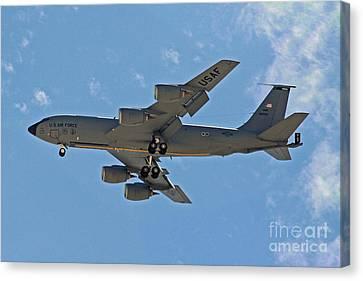 Usaf Kc-135 Air Tanker Canvas Print by Kenny Bosak