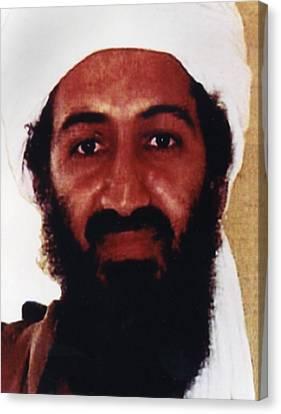 Usama Bin Laden Also Spelled, Osama Bin Canvas Print by Everett
