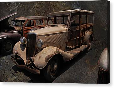 Used Car Lot Canvas Print