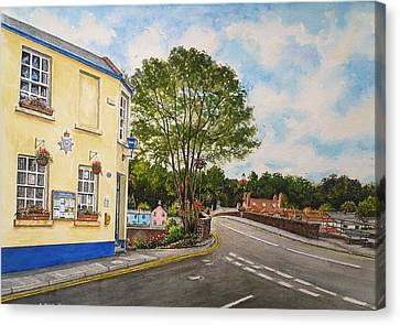 Usk Police Station  Canvas Print by Andrew Read