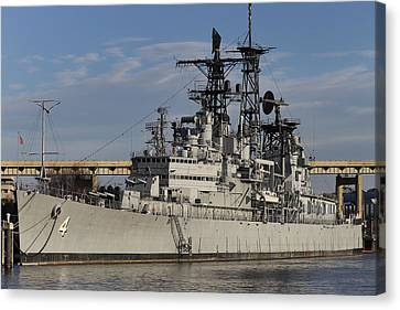 Uss Little Rock Canvas Print by Peter Chilelli