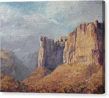 Art Of Mia Delode Canvas Print - Utah  by Mia DeLode