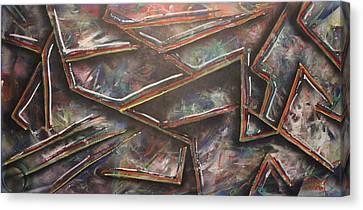 Utitled Canvas Print by Shadrach Ensor