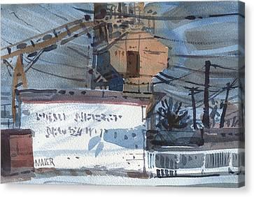 Vacuum Canvas Print - Vacuum Repair by Donald Maier