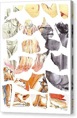 Vague Memories Canvas Print by Michal Boubin