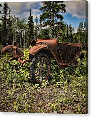 Valdez To Fairbanks Taxi Canvas Print