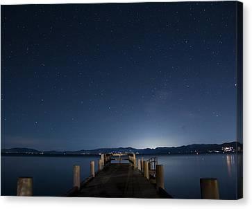 Valhalla Pier Star Gazing Canvas Print by Brad Scott