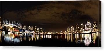 Vancouver British Columbia 4 Canvas Print by Bob Christopher