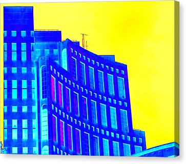 Vancouver Library 3 Canvas Print by Randall Weidner