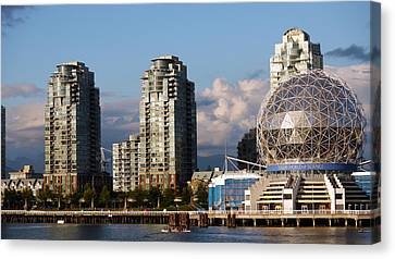 Vancouver's Science Centre Canvas Print by Rae Tucker