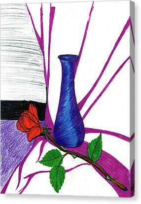 Vase Canvas Print by Harry Richards