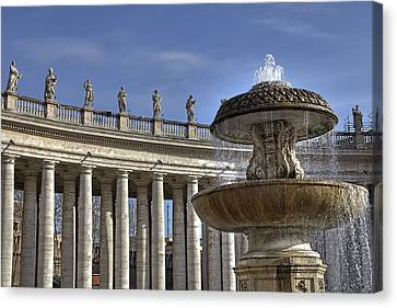 Vatican - St. Peter's Square Canvas Print by Joana Kruse