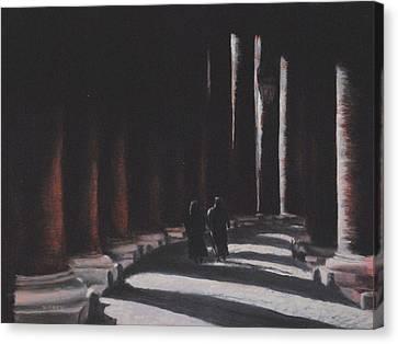 Vatican Contemplation Canvas Print