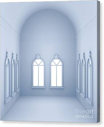 Vaulted Room  Canvas Print