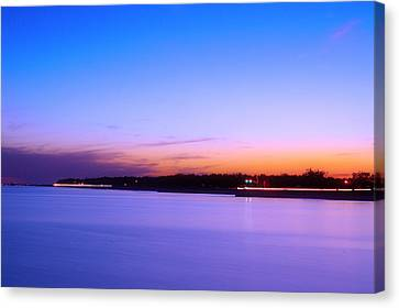 Canvas Print featuring the photograph Velvet At Dusk by Brian Wright