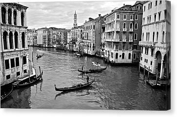 Canvas Print featuring the photograph Venezia by Eric Tressler