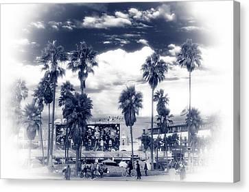 Venice Beach Haze Canvas Print by John Rizzuto