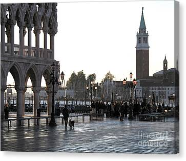 Venice Canvas Print by Bernard Jaubert