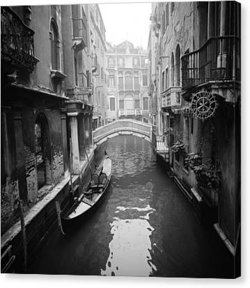 Venice Canal Canvas Print by Emanuel Tanjala