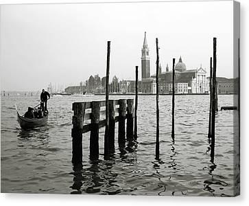 Venice Canal Grande II Canvas Print by Nina Papiorek