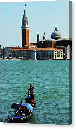 Venice Gandola Canvas Print