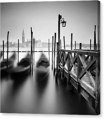 Venice Gondolas II Canvas Print