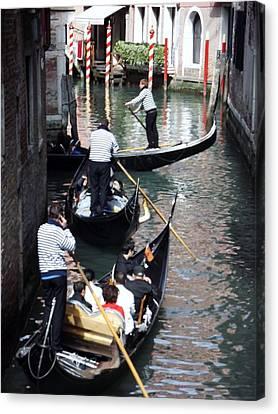 Venice Gridlock Canvas Print