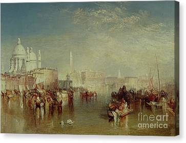 San Marco Canvas Print - Venice by Joseph Mallord William Turner