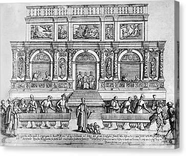 Venice: Loggetta Canvas Print by Granger