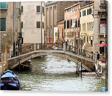 Venice Venezia Venetian Bridge Canvas Print