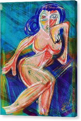 Venus Canvas Print by Russell Pierce