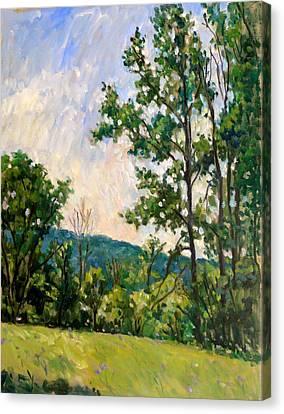 Vermont Spring Bennington Canvas Print