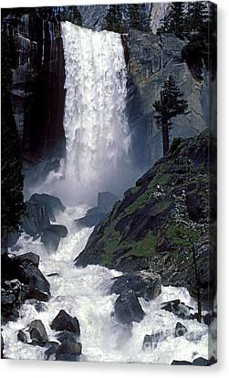 Vernal Falls Spring Flow Canvas Print by Paul W Faust -  Impressions of Light